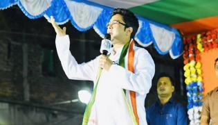 TMC Leader Abhishek Banerjee Fires Suvendu Adhikari - Sakshi