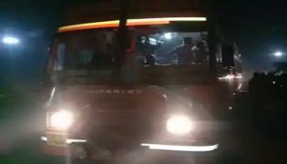 Bus Hijack Drama By Husband To Save Wife Fake Phone Call To Police - Sakshi