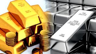 Gold, Silver gains second consecutive day - Sakshi