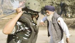 Farmers Protest Punjab Farmer Speaks Over Viral Photo Of Him - Sakshi
