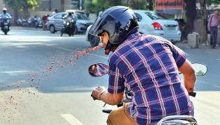 How India Can Stop Public Spitting - Sakshi