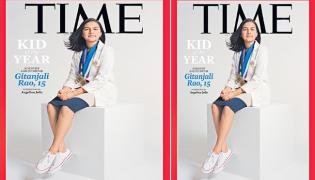 Indian-American Gitanjali Rao named first-ever TIME Kid of the Year - Sakshi
