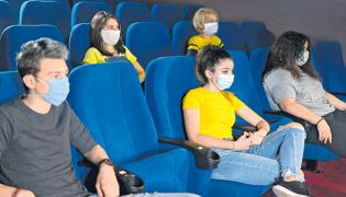 Multiplexes and theatres reopen in Hyderabad after Covid-19 - Sakshi