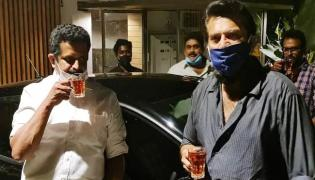 Mammootty Steps Out From Home First Time After 275 Days - Sakshi