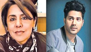 Varun Dhawan and Neetu Kapoor tested Covid positive - Sakshi