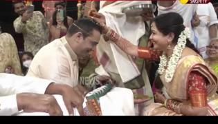 Singer Sunitha Marriage Video
