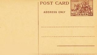 No One Worried Of Privacy When Using Postcards Olden Days - Sakshi