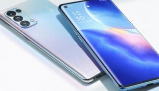 Oppo Reno 5 Pro 5G to Launch Today in India - Sakshi