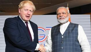 UK PM Boris Johnson invites PM Narendra Modi to G7 summit - Sakshi