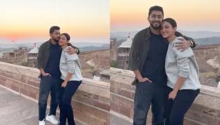 Gauahar Khan Enjoy Honeymoon With Zaid Darbar in Udaipur - Sakshi