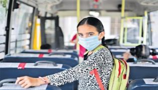 Noida Girl College Student Jumps From Private Bus - Sakshi