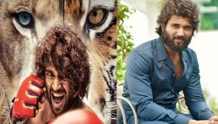 Vijay Devarakonda Emotional On Liger Celebrations - Sakshi