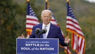 Sakshi Editorial On Joe Biden Sworn Amidst Unprecedented Security