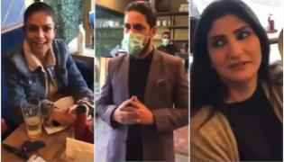 Social Media Fires On Cafe Owners Aggresive Behaviour With Mananger - Sakshi