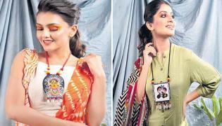 Fabric Painting Designs Fashions - Sakshi