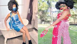 Teacha Ariel Making Shopping Bags To Fashion Dresses - Sakshi