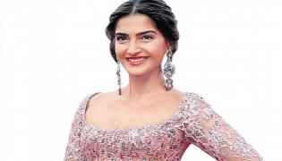 Sonam kapoor Blind Movie Update - Sakshi