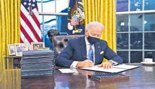 Joe Bidens Gender Discrimination Order Offers - Sakshi