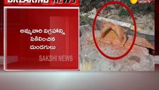 Kukatpally Naga Devata Idol Temple Destroyed