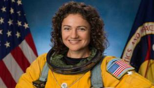 Jessica Meir To Become First Woman To Land On Moon - Sakshi