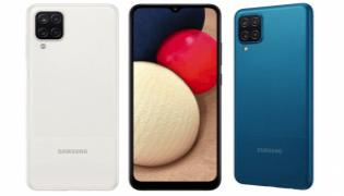 Samsung Galaxy A02 Launched with 5000mAh Battery - Sakshi