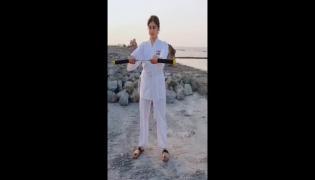 Adah Sharma Nunchaku Viral Video