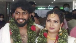 Actor Madhupal Daughter, TV Anchor Madhavi Gets Married - Sakshi