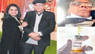 Dr KK Aggarwal phone conversation with wife after getting vaccinated  - Sakshi
