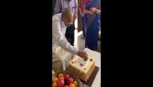 Legendary Director K Viswanath Birthday Surprise Video