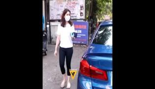 Sara Tendulkar Steps Out For Coffee Viral Video