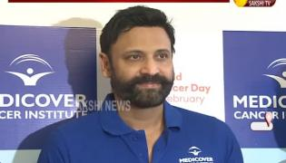 Hyderabad: Sumanth Starts Cancer Awareness Rally