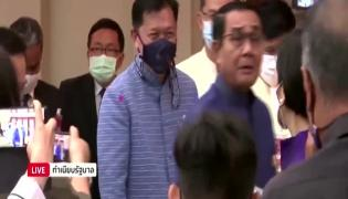 Thailand PM Sprays Reporters With Hand Sanitiser Video Gone Viral