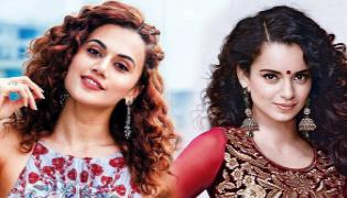 Kangana Ranaut hits back at Taapsee Pannu after her tweets  - Sakshi