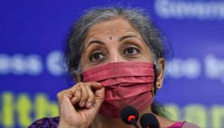 Sitharaman says govt wont go for lockdowns in a big way - Sakshi