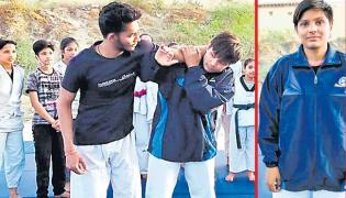 Rajasthan Teenager Imparts Self- Defense Skills To Other Girls - Sakshi