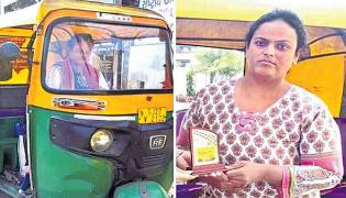 First Specially-Abled Woman Auto Driver In Ahmedabad - Sakshi
