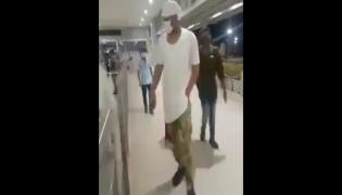Prabhas At Hyderabad Airport Video Gone Viral