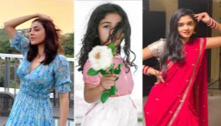 Social Hulchul: Kajal Aggarwal In Casual Look, Allu Arha Cute Pic - Sakshi