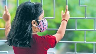 Students Are In Their Home For One Year Ago Due To Coronavirus And Lockdown - Sakshi