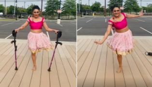 Viral: Disabled Dancer Grooves Chikni Chameli Video Wins Netizens Hearts - Sakshi