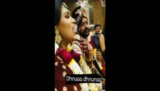 Viral Video: Bride Puffs Away Rings of Smoke in Front of Guests