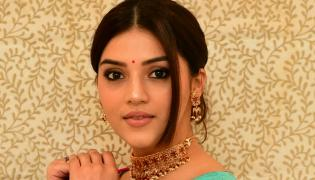 Mehrene Kaur Pirzada Team Up With Balakrishna And Gopichand Malineni Movie - Sakshi