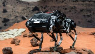 Four Legged SpaceBok Robot Set For Mars And How To Walk On It - Sakshi