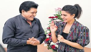 Ali Produced The First Film With Samantha - Sakshi