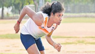 Revathi Veeramani will sprint for India at the Tokyo Olympics - Sakshi