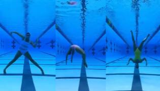 Woman Performs Amazing Dance Underwater, Video Viral - Sakshi