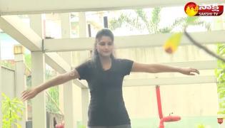 Garam Sathi And Ravali Hilarious Skit On Training For Olympics