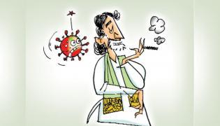 CNS Yazulu Satire On Chandrababu Naidu With Girisam Character - Sakshi