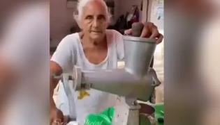 Amritsar bibiji juice stall going viral - Sakshi