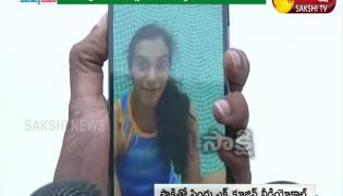 PV Sindhu Video Call With Sakshi After Wining Medal